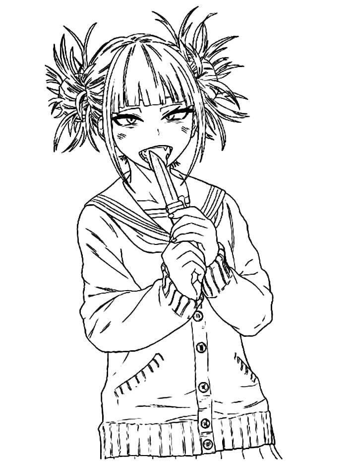 toga himiko with knife