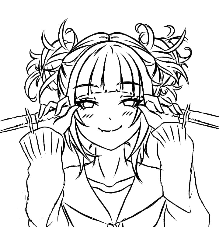 toga himiko with knives