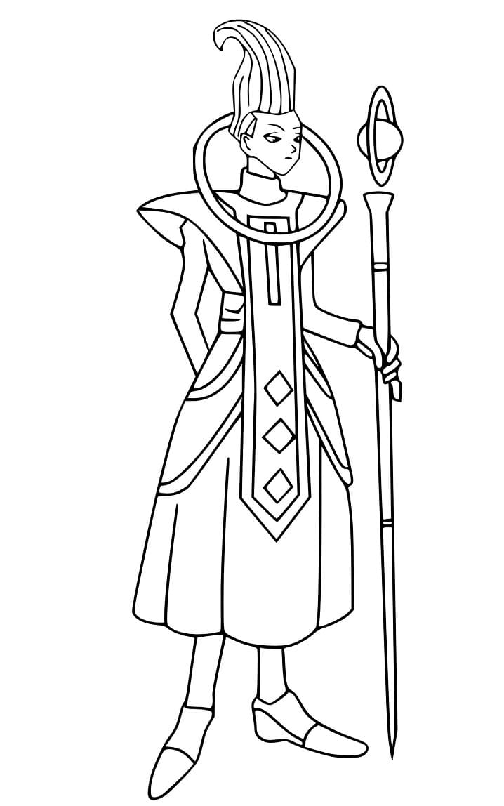 Printable Whis Coloring Pages