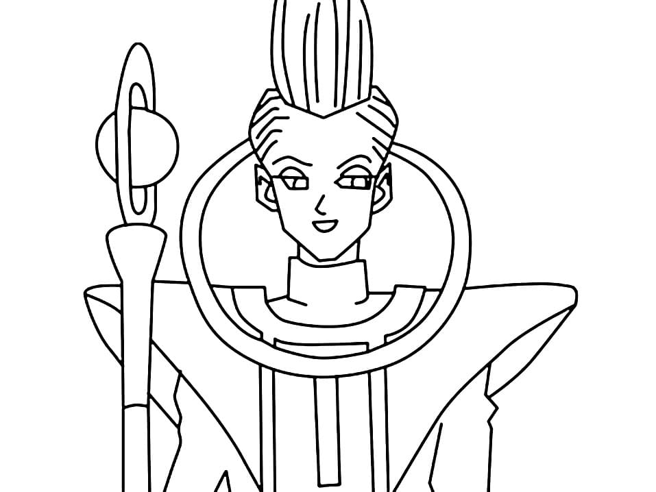 whis smiling