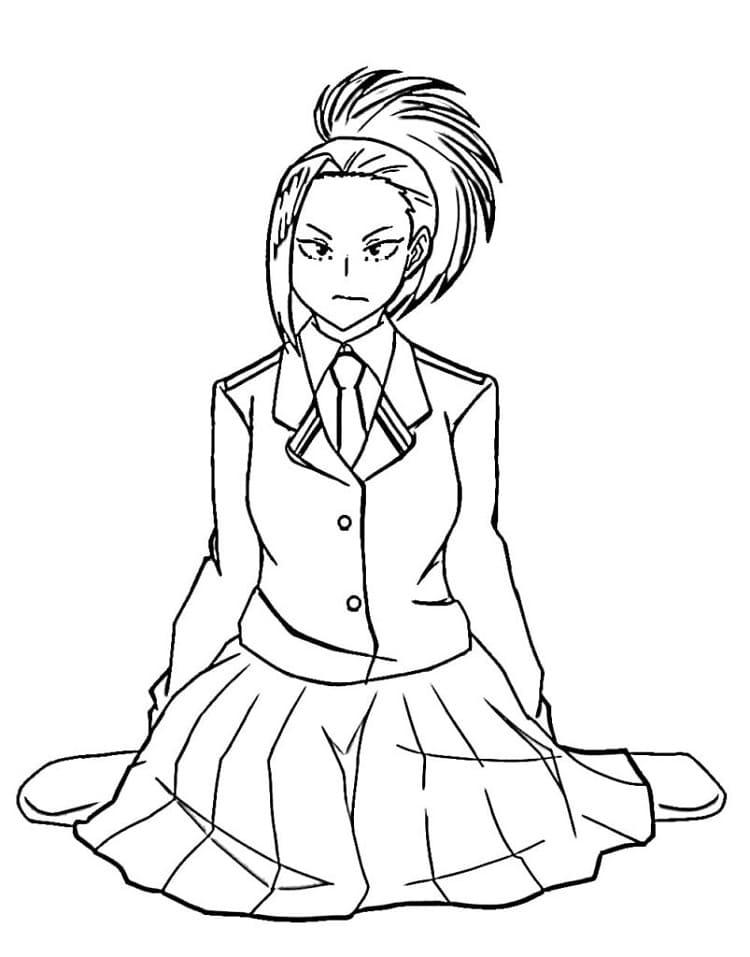 yaoyorozu sitting