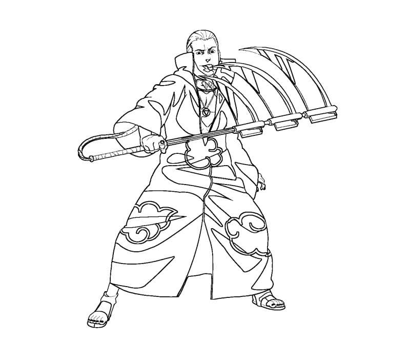 hidan and his weapon